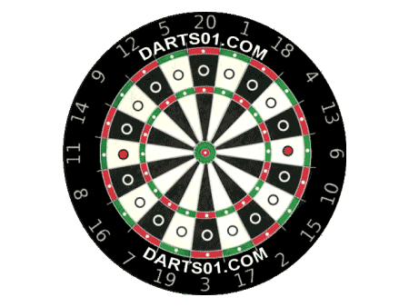 dot trainer dartboard 180