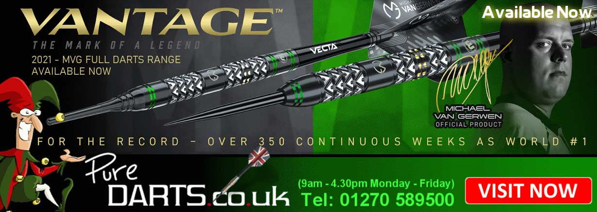 Pure Darts - Darts Suppliers online shop - Michael van Gerwen Winmau