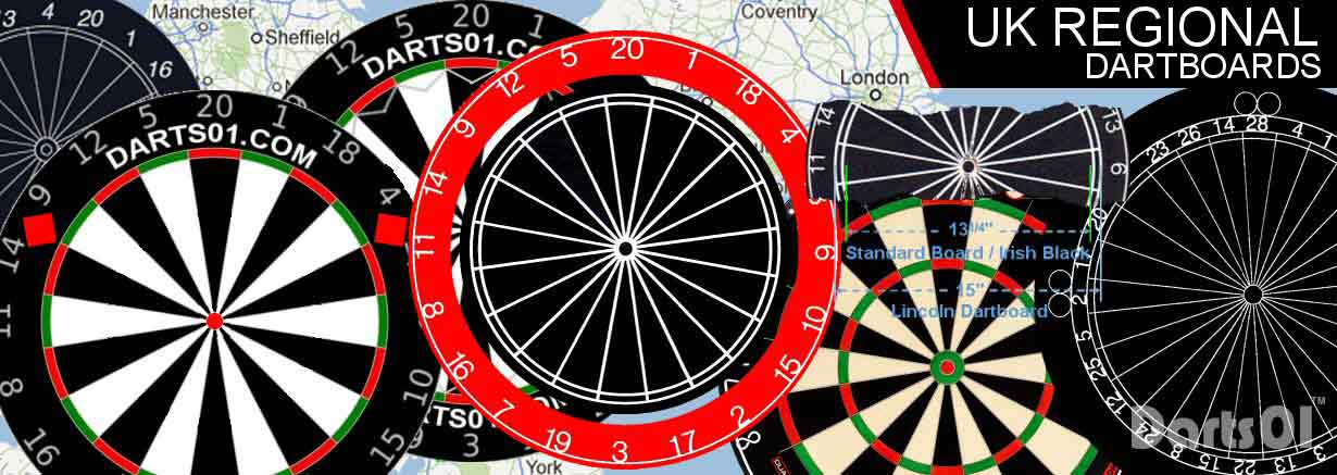 UK Regional Dartboards